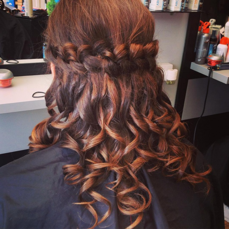 loop braid for short hair