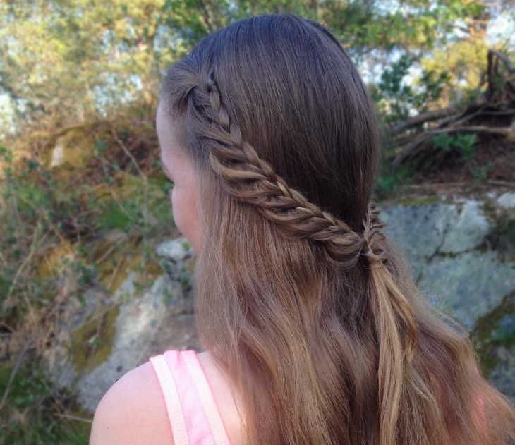 dutch loop braid hairstyle