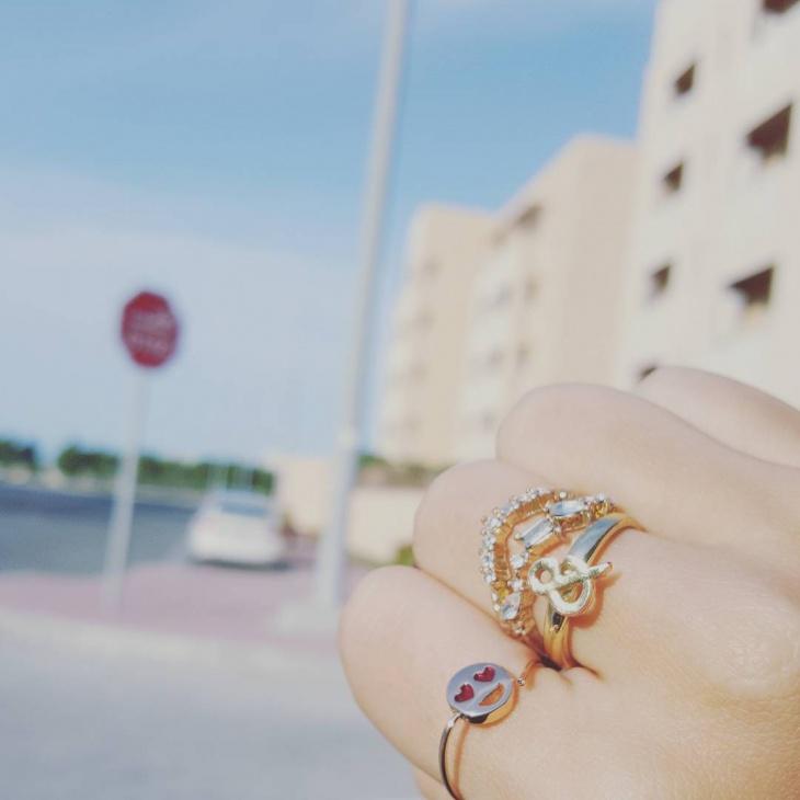 Wedding Emoji Ring Design