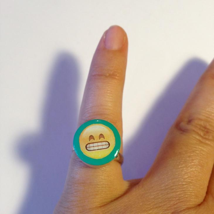 Blue Rings Emoji