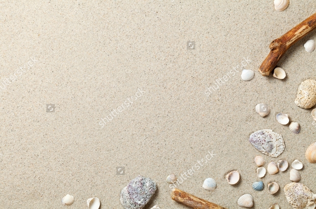 Summer Beach Background Texture