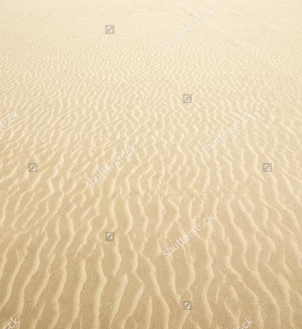 Beach sand waves warm texture