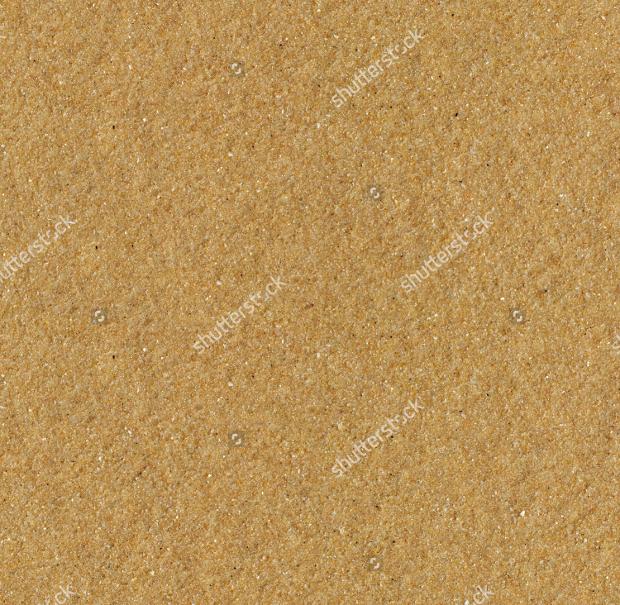 Seamless Beach Yellow Sand Texture