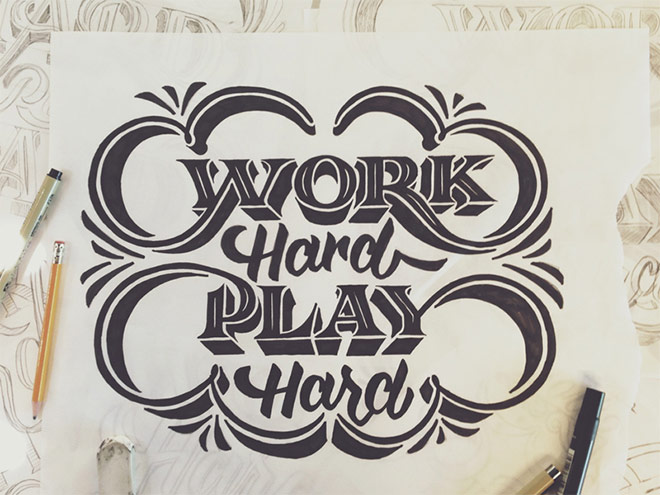 work hard and play hard by scott biersack