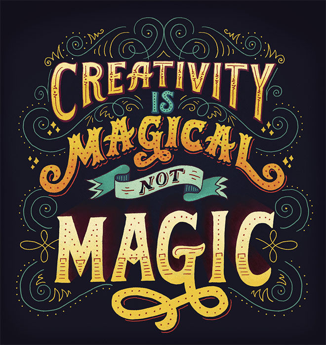 creativity is magical by mary kate mcdevit