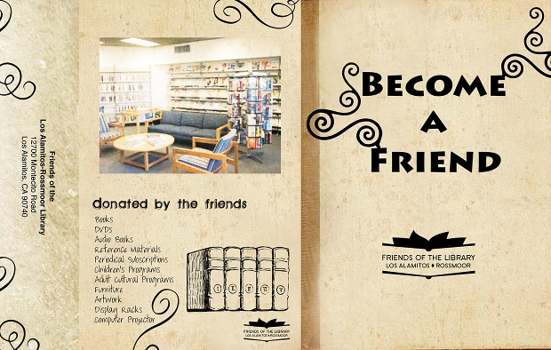 friends library brochure