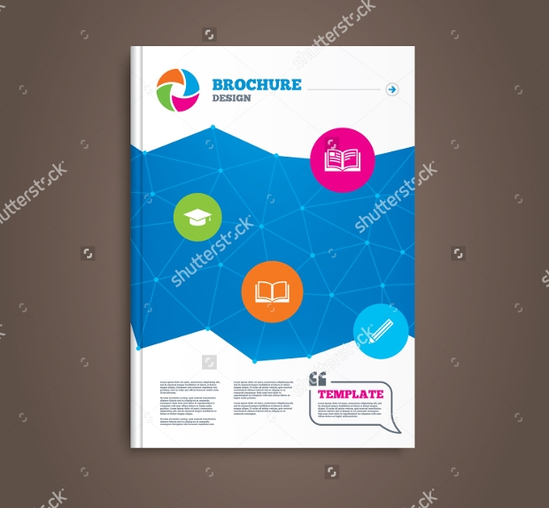 sample library brochure template