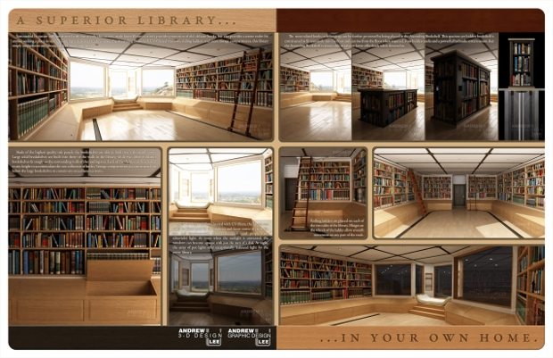 home library brochure