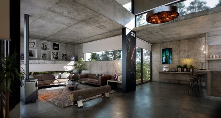 17+ Industrial Home Designs, Ideas | Design Trends - Premium PSD ...
