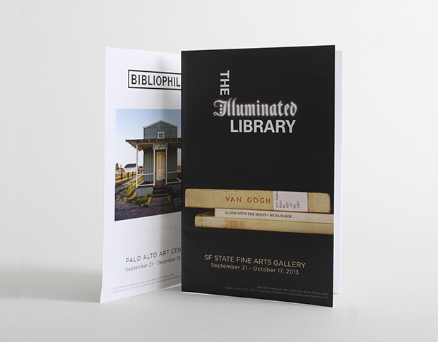 the illuminated library brochure
