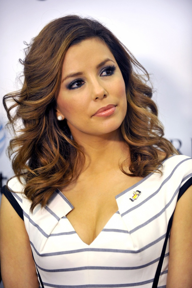 eva longoria retro finger wave hair