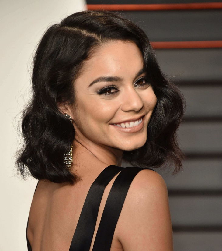 vanessa hudgens finger wave hairstyle