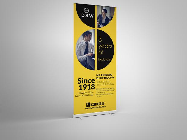 Custom Corporate Advertising Banner