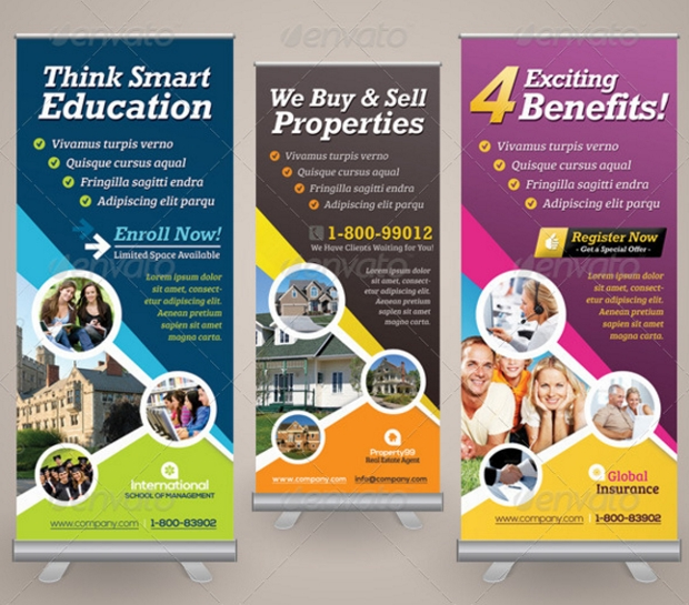 Corporate Business Roll up Banner