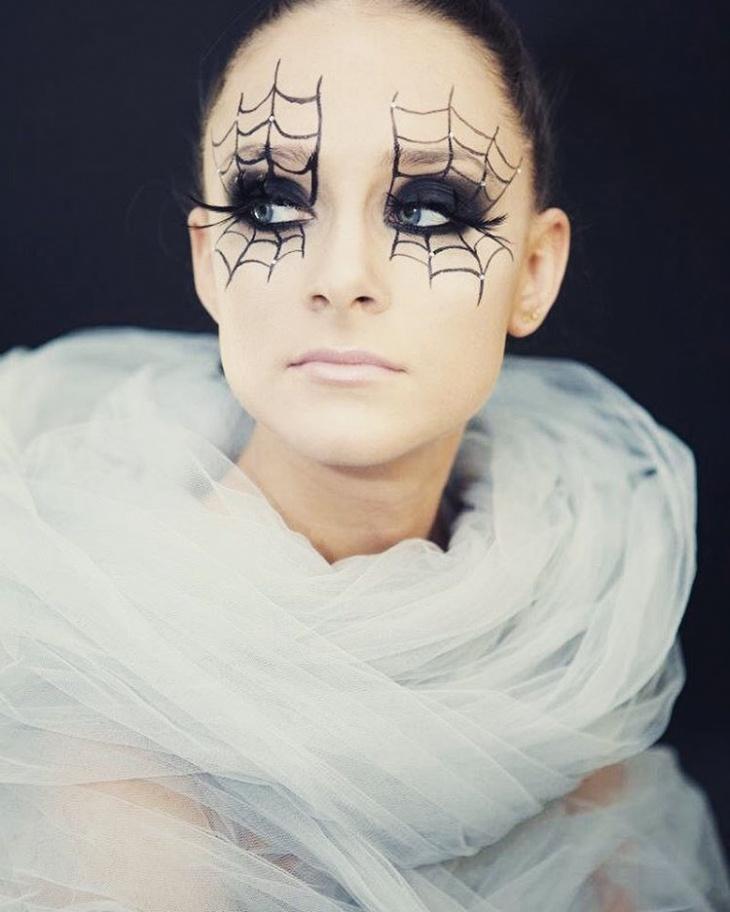 21 spider makeup designs trends ideas design trends premium psd vector downloads - Maquillage araignee visage ...