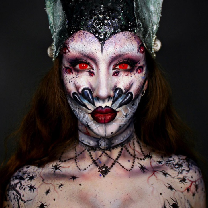21+ Spider Makeup Designs, Trends, Ideas | Design Trends - Premium ...