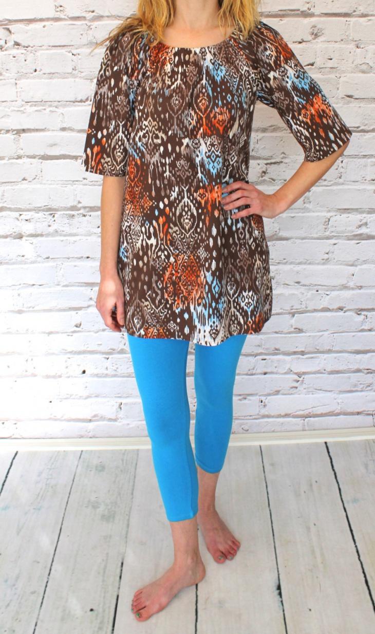 Aztec Tunic Dress Design