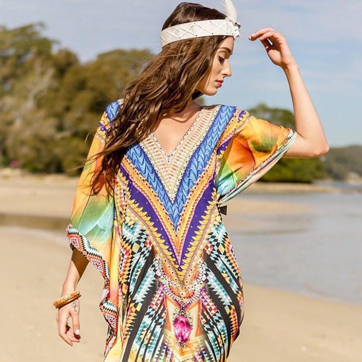 Aztec Beach Dress Design