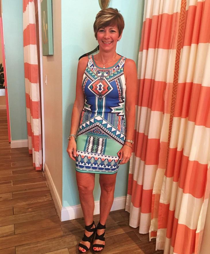 Trendy Aztec Dress Idea