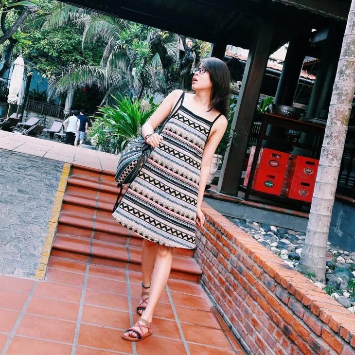 Simple Aztec Pattern Dress