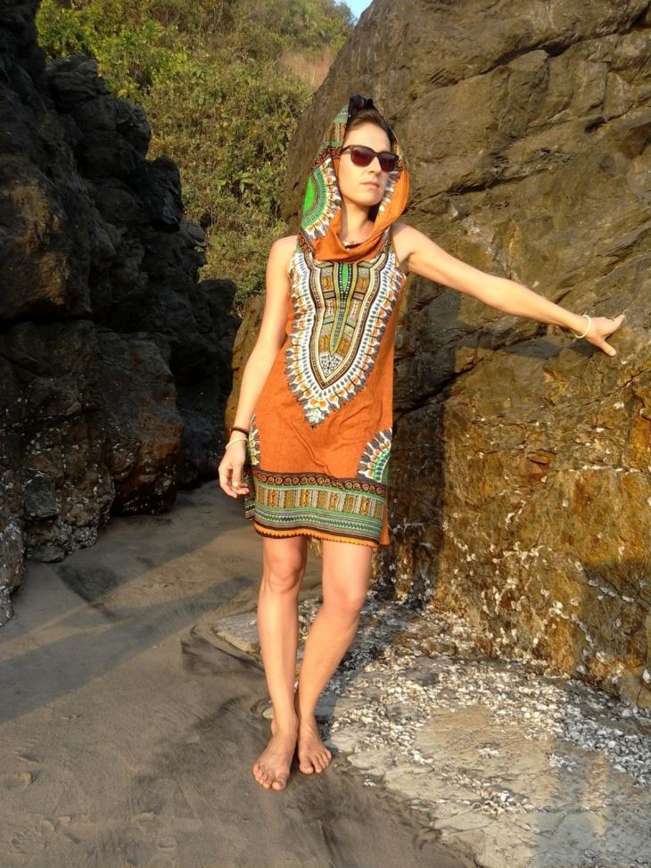 African Print Aztec Dress