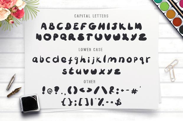 Funny Script Font
