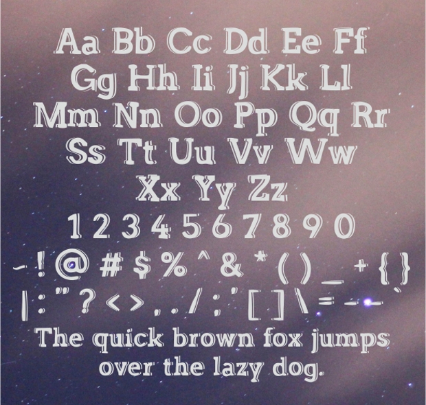 Classic Funny Font