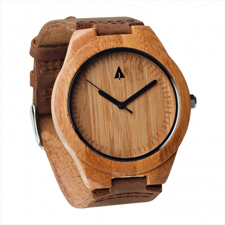 Minimalist Bamboo Watch