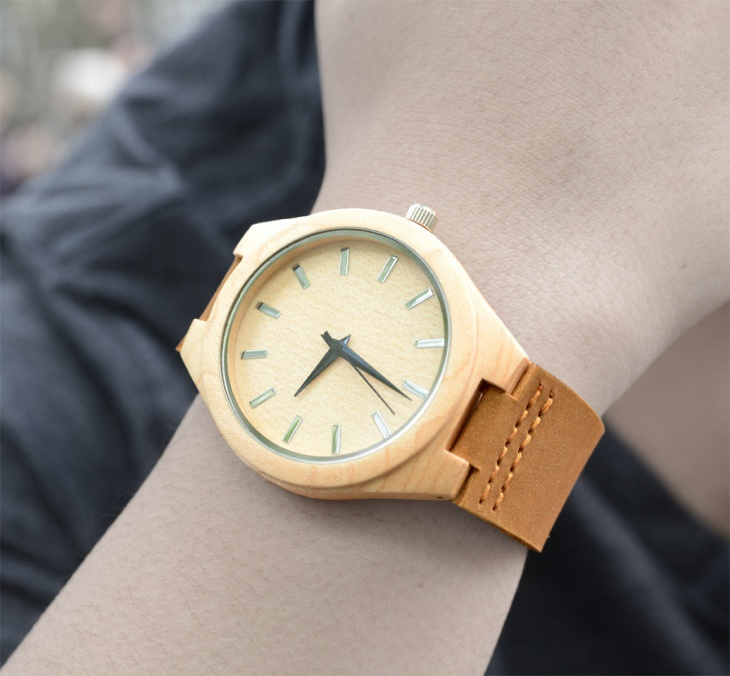 Personalized Bamboo Watch