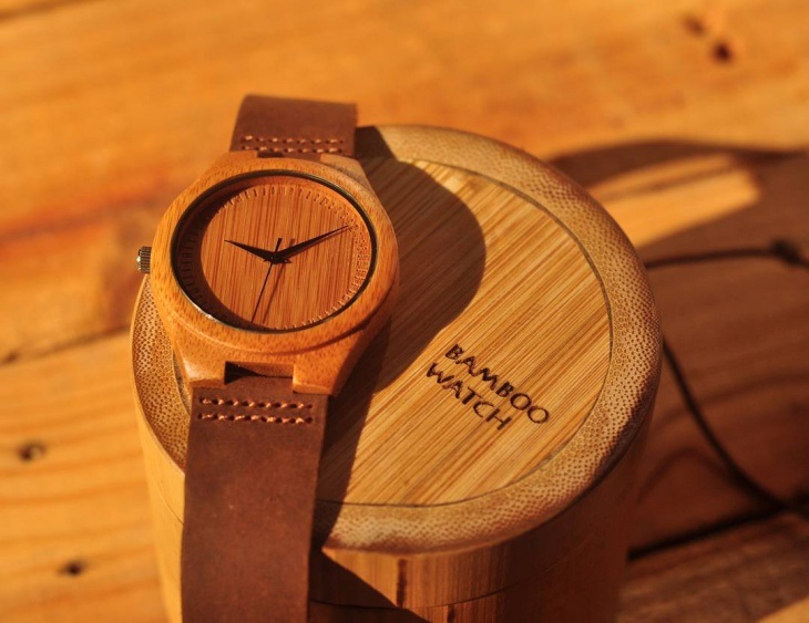Cool Bamboo Watch Design