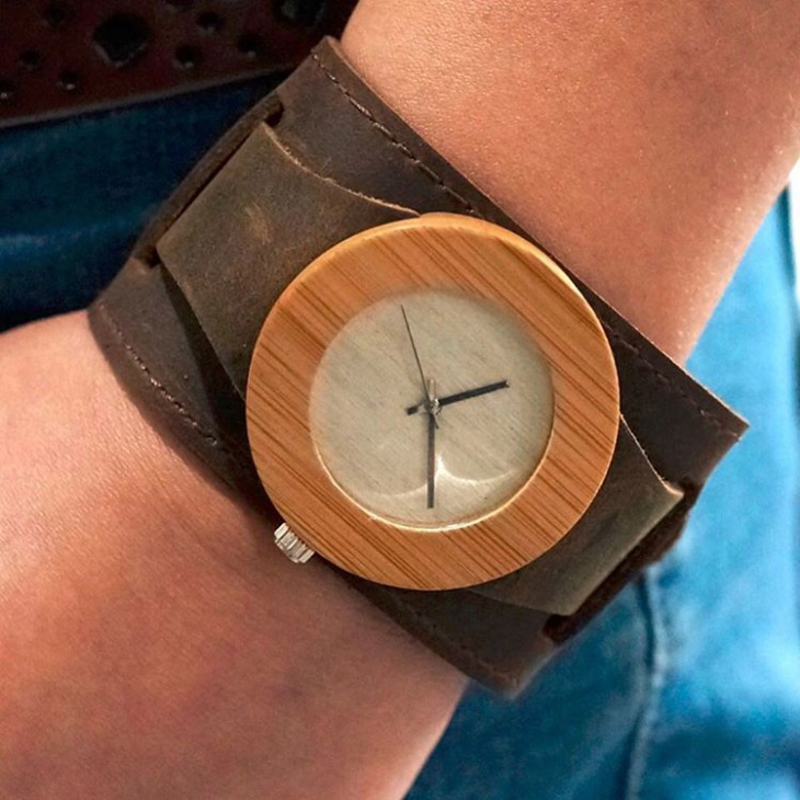 Stylish Bamboo Watch Idea