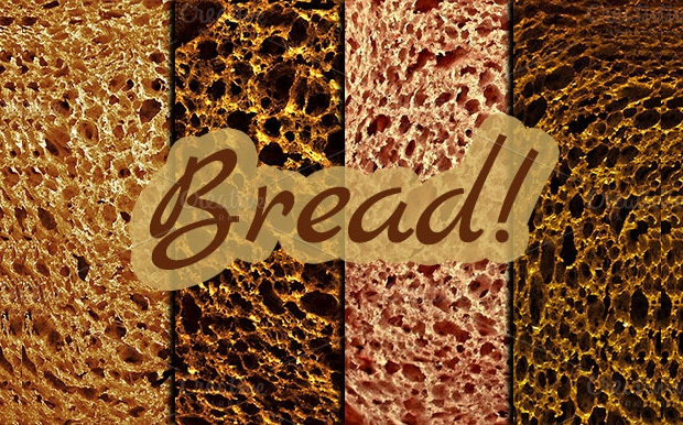 high resolution bread texture