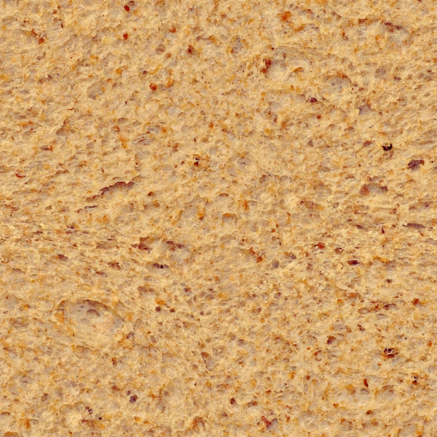 light dried bread textures