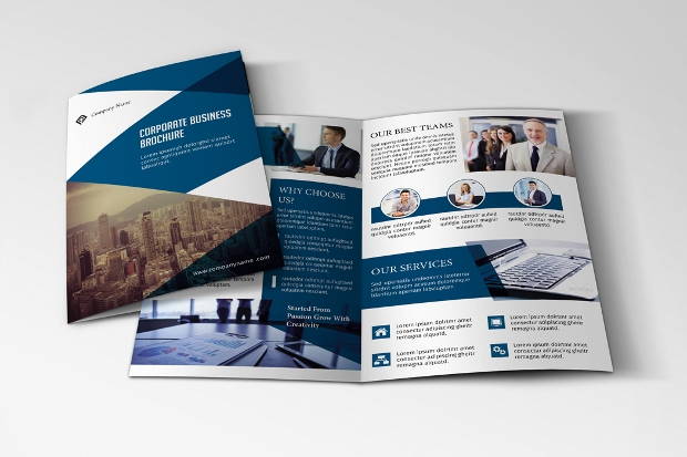Bifold Advertising Brochure Design