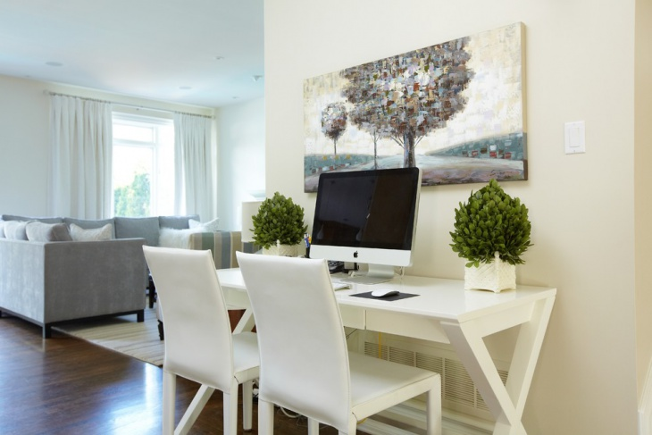 modern minimalist computer desk