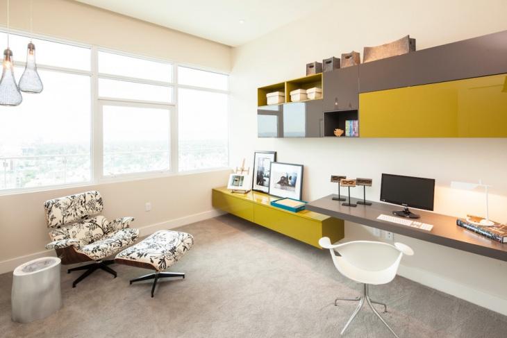 trendy minimalist computer desk