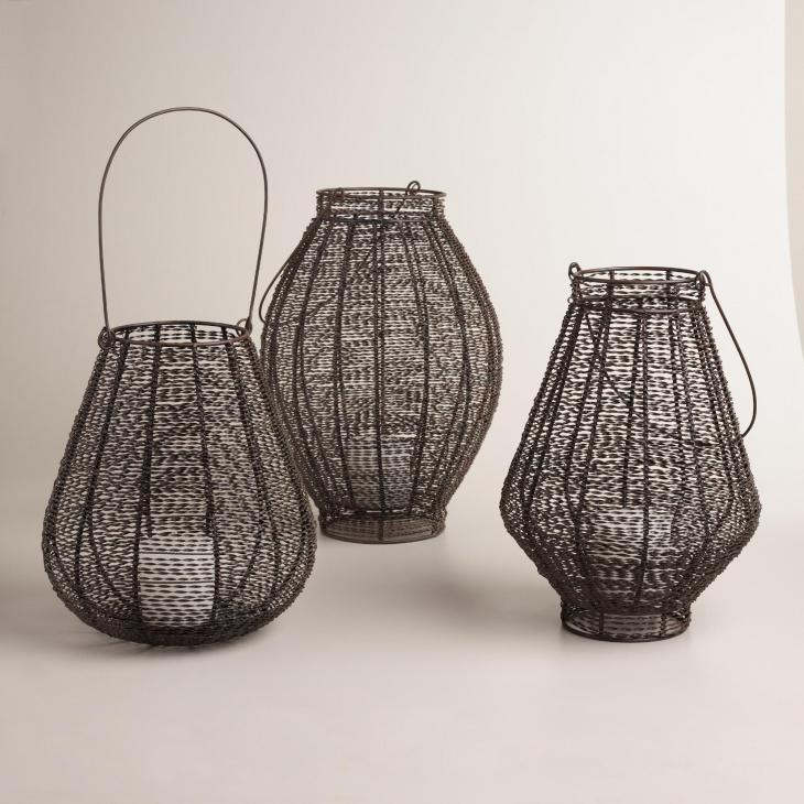 5. Woven Lantern