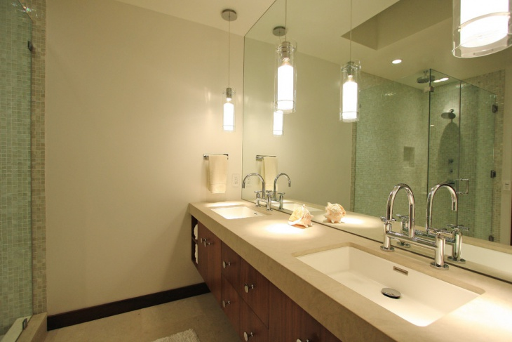 LED Bathroom Pendant Lighting