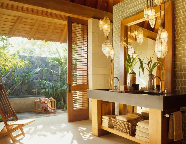 17+ Bathroom Pendant Lighting Designs, Ideas | Design Trends ...
