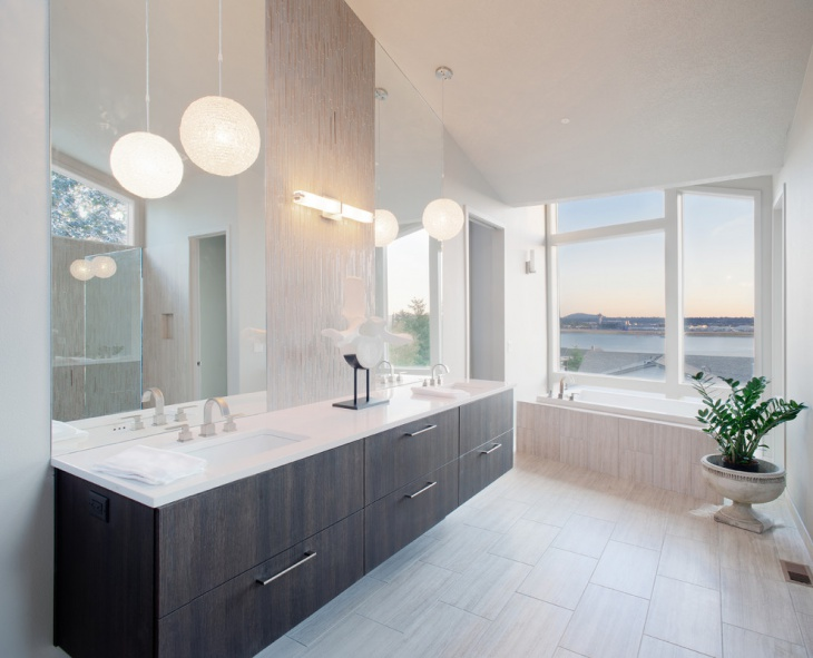 Round Pendant Light Bathroom & 17+ Bathroom Pendant Lighting Designs Ideas | Design Trends ...