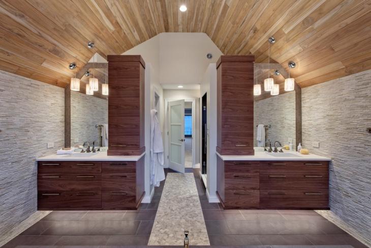 master bathroom pendant light