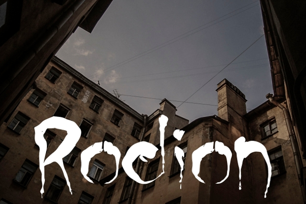 rodion font