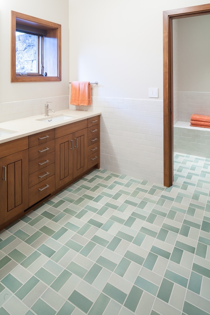 18 geometric floor tiles designs ideas design trends for Bathroom tile trends 2016 uk