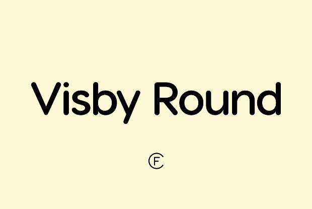 Visby CF Round Geometric Font