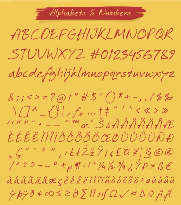 professional script font
