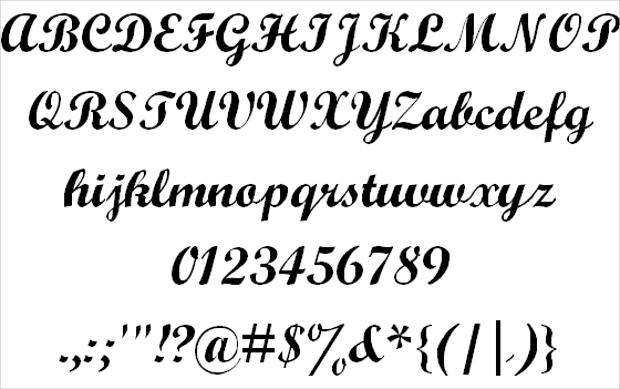 professional fonts