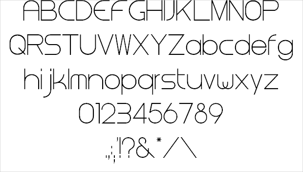 Professional Corporate Font