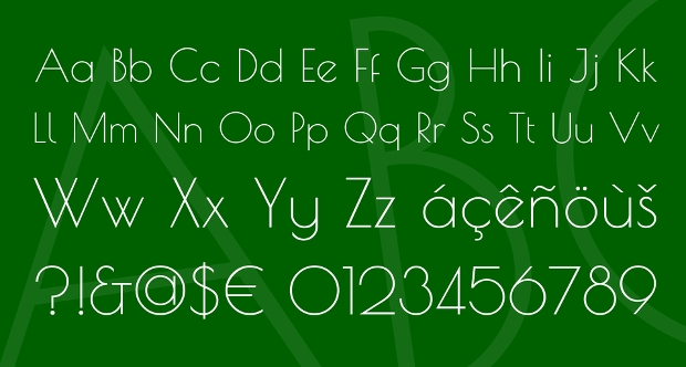 Rounded Geometric Font