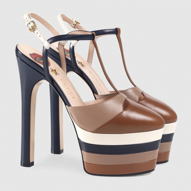 3. Leather Platform Pump- $990