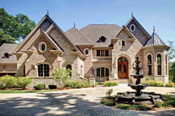 Stone Front Elevation House : Exterior elevation designs ideas design trends
